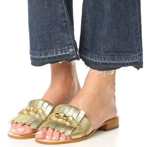 36672b507806 (Kate Spade) Gold Brie Sandals